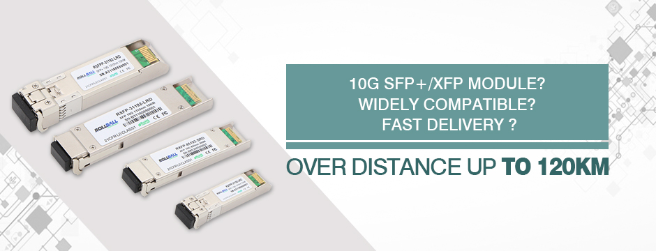 10G Fiber optic transceivers