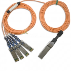 1m(3.3ft) Generic Compatible 40G QSFP+ Active Optical Cable
