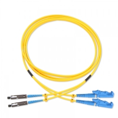 MU-E2000/UPC Duplex OS2 9/125 SMF Fiber Patch Cable