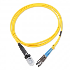 MU-MTRJ Duplex OS2 9/125 SMF Fiber Patch Cable