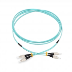 FC/UPC-FC/UPC Duplex OM3 50/125 Multi-mode Fiber Patch Cable