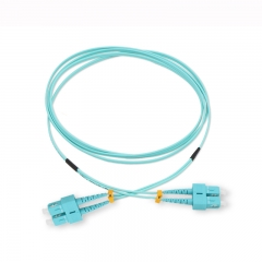 SC/UPC-SC/UPC Duplex OM3 50/125 Multi-mode Fiber Patch Cable
