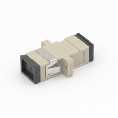 SC/UPC to SC/UPC Simplex Multi-mode Plastic Fiber Optic Adapter