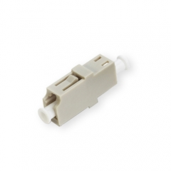 LC/UPC to LC/UPC Simplex Multi-mode Plastic Fiber Optic Adapter