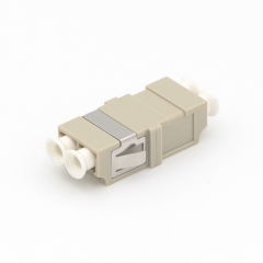 LC/UPC to LC/UPC Duplex Multi-mode Plastic Fiber Optic Adapter