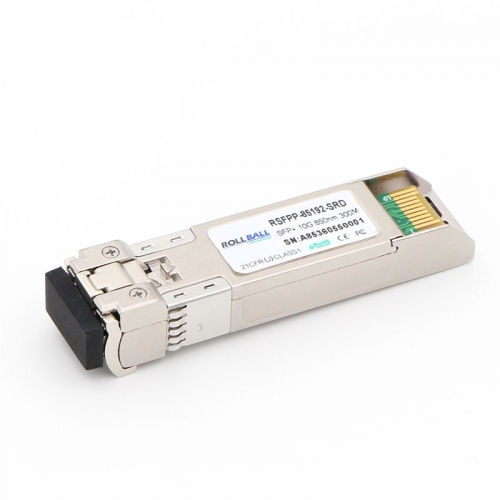Cisco Compatible SFP-10G-SR 10GBASE-SR SFP+ 850nm 300m DOM Transceiver